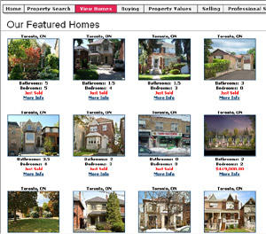 Web Based Real Estate Listing Database Software