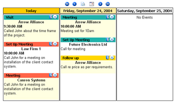Web Calendars and Schedules